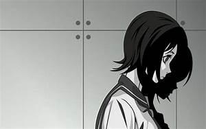 Black, And, White, Sayonara, Zetsubou, Sensei, School, Uniforms, Schoolgirls, Shadows, Short