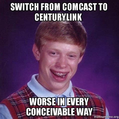 Switch from Comcast to CenturyLink Worse in every ...