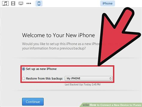 how to set up iphone as new how to connect a new device to itunes 9 steps with pictures