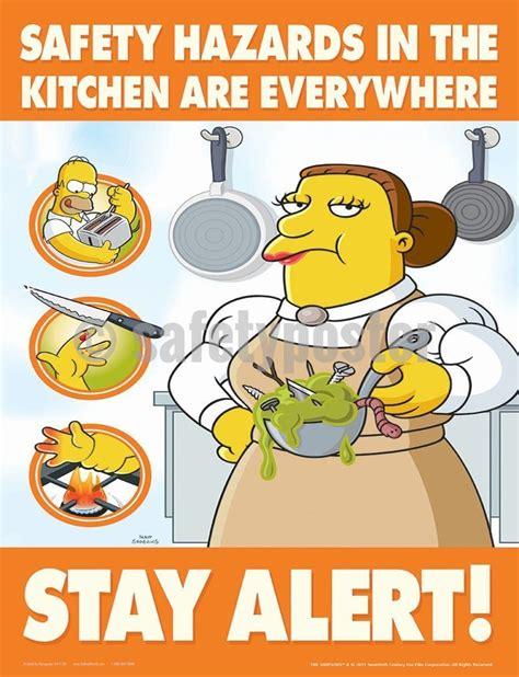 safety hazards   kitchen   simpsons