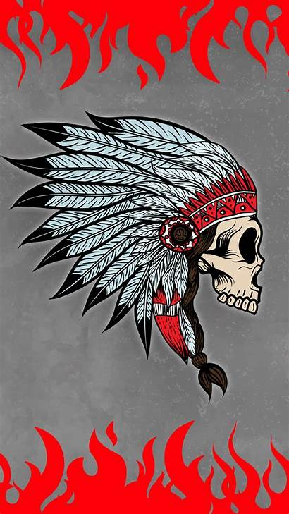 Skull Indian Wallpapers Phone Mobile Android Phones