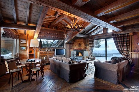 cozy winter living room on great atmosphere great