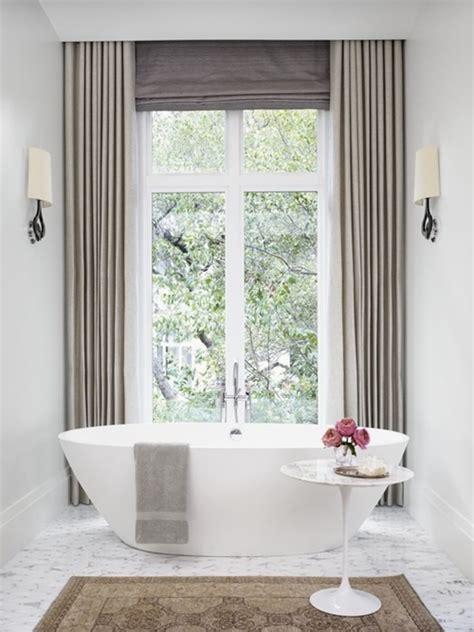 Design Bathroom Window Treatments by Modern Bathroom Window Curtain Designs Interior Design