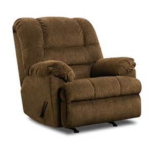 simmons verona chocolate recliner big lots