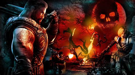 Gears Of War Animated Wallpaper - gears of war backgrounds 77