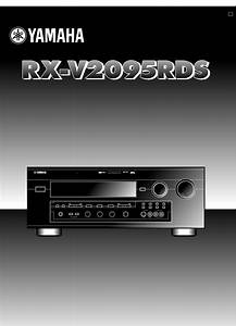 Bedienungsanleitung Yamaha Rx