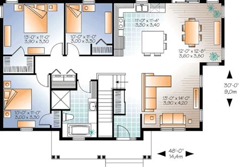 bedroom builder friendly bungalow dr architectural designs house plans