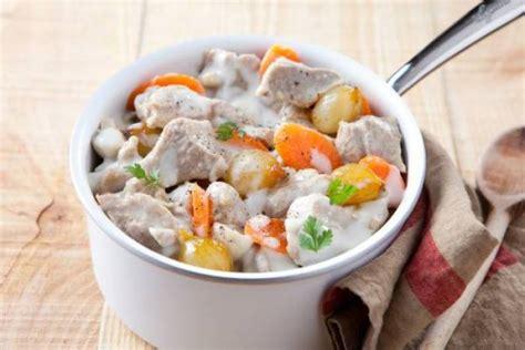 recette de cuisine blanquette de veau recette de blanquette de veau à l 39 ancienne facile et rapide