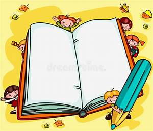 School backgrounds. Book stock vector. Illustration of ...
