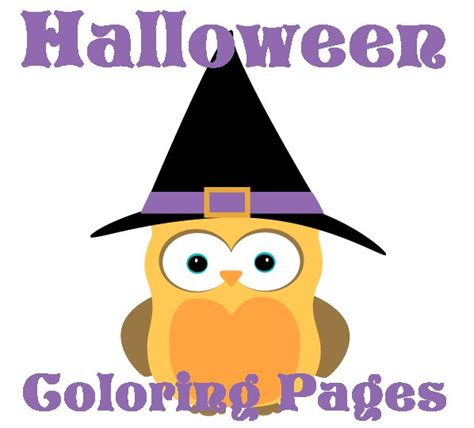 halloween coloring pages cute graphics
