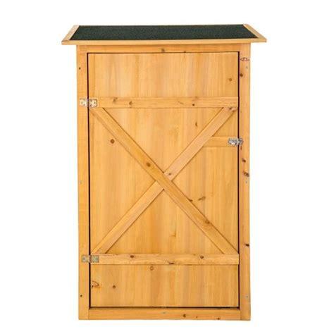 armadietto legno armadietto in legno da esterno porta attrezzi per giardino