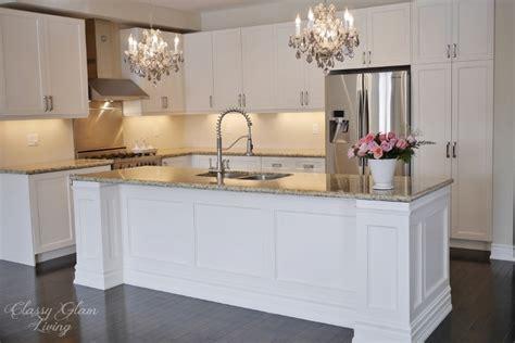 kitchen island makeover ideas diy kitchen island makeover classy glam living