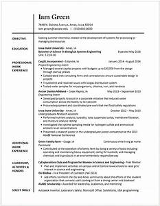 other skills in resume sample - example resumes engineering career services iowa state