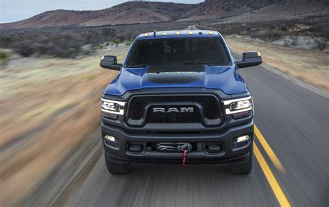 ram power wagon driving  fast lane truck