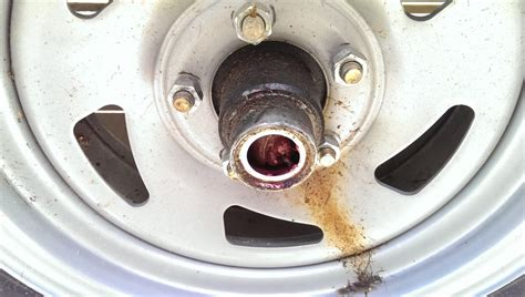 Why Do Boat Trailer Tires Wear On The Inside by Repacking Trailer Wheel Bearings Did It Myself