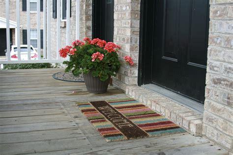 Interior Door Rugs by Outdoor Front Door Mat With Lovely Stripped Front Door