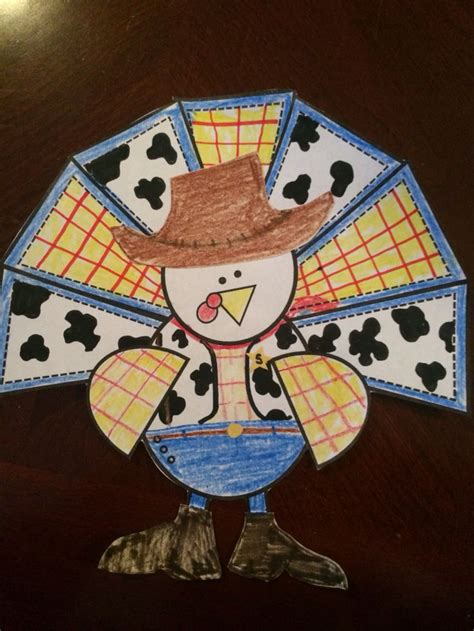 toy story themed woody turkey  disguise turkey