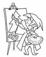 Coloring Pintar Colorear Dibujos Paint Elves Pintura Imprimir Colorir Pinturas Desenhos Games Painting Escolar Material Elf Painter Profesiones Splat Colouring sketch template