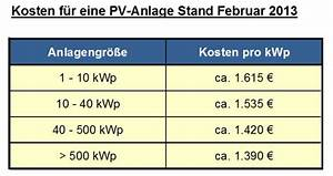 Solaranlage Dach Kosten : kosten einer photovoltaikanlage ~ Orissabook.com Haus und Dekorationen