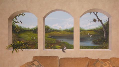 Trompe L'oeil Muralstrompe L'oeil,murals And Faux