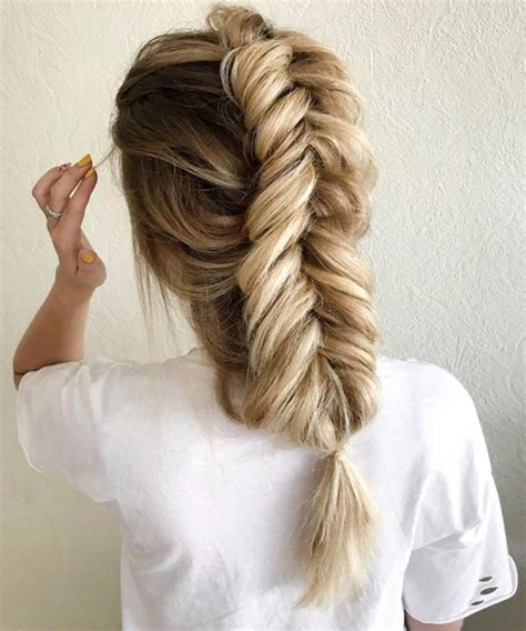 exceptional fishtail braided hairstyles for teenage girls