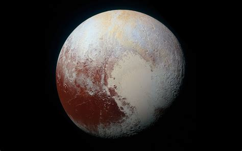 wallpaper pluto planet space  uhd  picture image