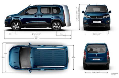 peugeot rifter dimensions ext 233 rieures et int 233 rieures forum peugeot - Peugeot Rifter Dimensions