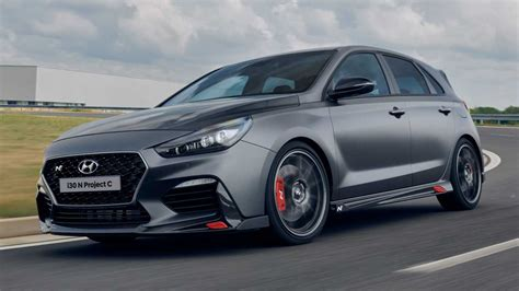 This new version is 20mm lower and 20mm wider than the 2013. Hyundai i30 N Project C Revealed With Significant Weight Loss
