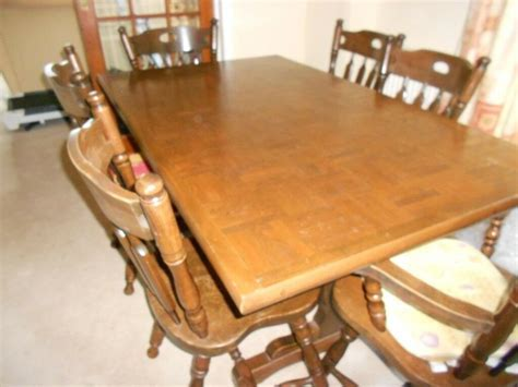 Dining Table 6 Chairs, bargain £15   in Folkestone, Kent