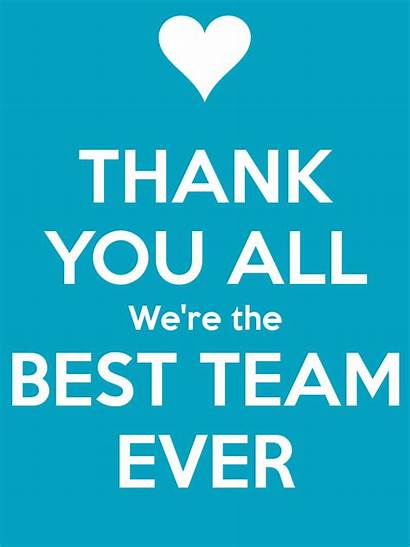 Team Thank Quotes Thankful Ever Winning Thanks