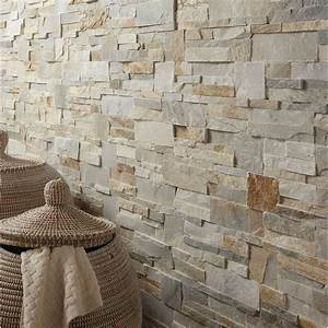 plaquette de parement elegance en pierre naturelle beige With wonderful salon de jardin bois leroy merlin 3 plaquette de parement pierre naturelle rose gris beige