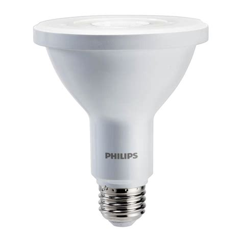 philips 75w equivalent daylight par30l indoor outdoor led