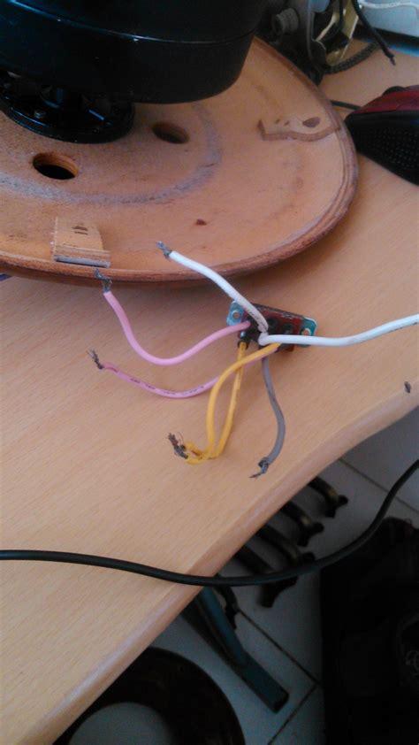 solucionado perdi como conectar el capacitor ventilador birtman de techo yoreparo