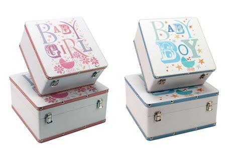 Blue Eyed Sun Baby Boys Blue Girls Pink Keepsake Storage