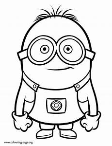 Despicable Me - Minion coloring page
