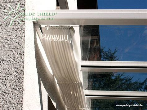 fotogalerie sonnensegel polyesterstoff ballenbreite