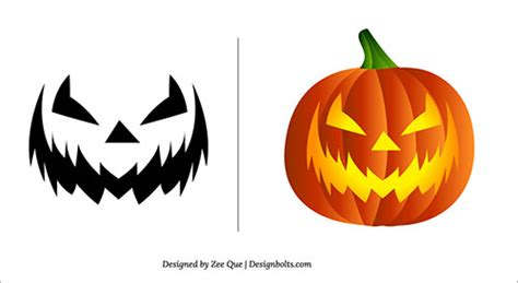 scary pumpkin templates 2013 free scary pumpkin carving patterns ideas stencils