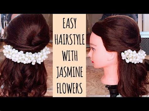 hairstyle  jasmine flowersgajra