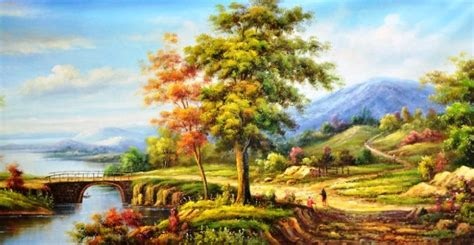 pendapat  tentang lukisan pemandangan cina galena
