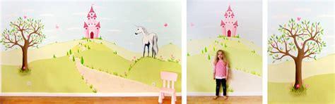Wandgestaltung Kinderzimmer Einhorn by Sweetwall Wunschmotive F 252 R Deine Wand Wandmalerei F 252 R