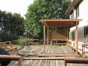 Faire Installer Point D Ancrage Isofix : fabriquer une pergola en bois comment installer des poteaux pour votre pegola de terrasse ~ Medecine-chirurgie-esthetiques.com Avis de Voitures