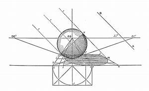Antique Engraving Illustration Perspective Geometry