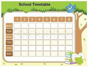 Daily Calendar Template Printable Free School Timetable Template Teachers School Timetable