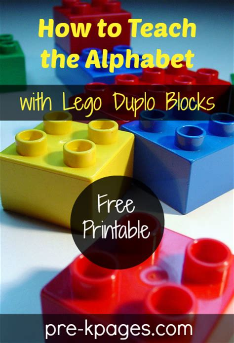how to teach letters how to teach the alphabet with lego duplo blocks