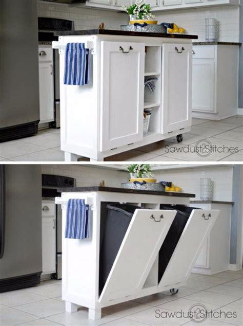 small space kitchen ideas best 25 trash bins ideas on trash can