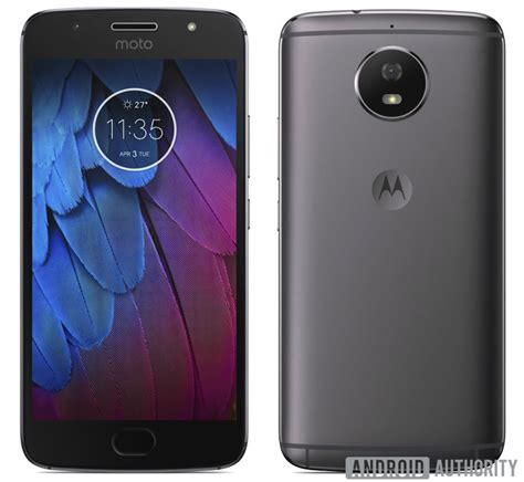 Motorola Moto G5S Leaked Press Render Shows Off Full Metal ...