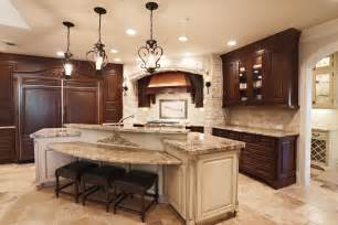 kitchen island with cooktop and seating 3 oaklawn piney point tx 77024 5210