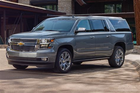 2019 Chevy Suburban New Deepwood Green Metallic Color