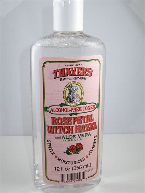 thayers alcohol free rose petal witch hazel with aloe vera 12 fluid ounce thayers petal witch hazel toner review musings of a muse