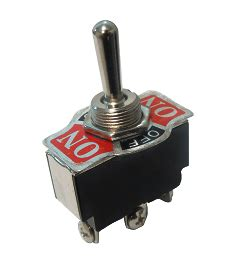 switch palanca 1 polo 2 tiros 3 posiciones 15 a 125 v enclave on on grande interruptor